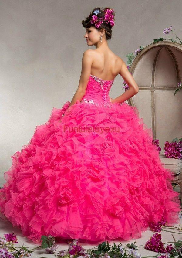 143 best Vestidos de quinceañera images on Pinterest | Cute dresses ...