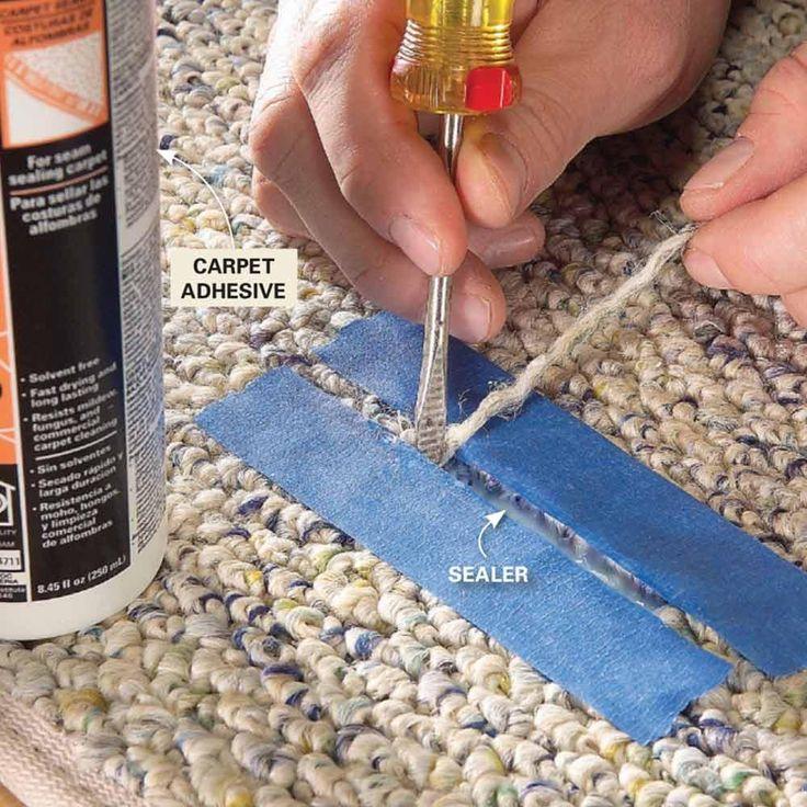 Hide Carpet Runs - Carpet Care Tips to Make Your Carpet Last: http://www.familyhandyman.com/floor/carpet-repair/carpet-care-tips-to-make-your-carpet-last#7