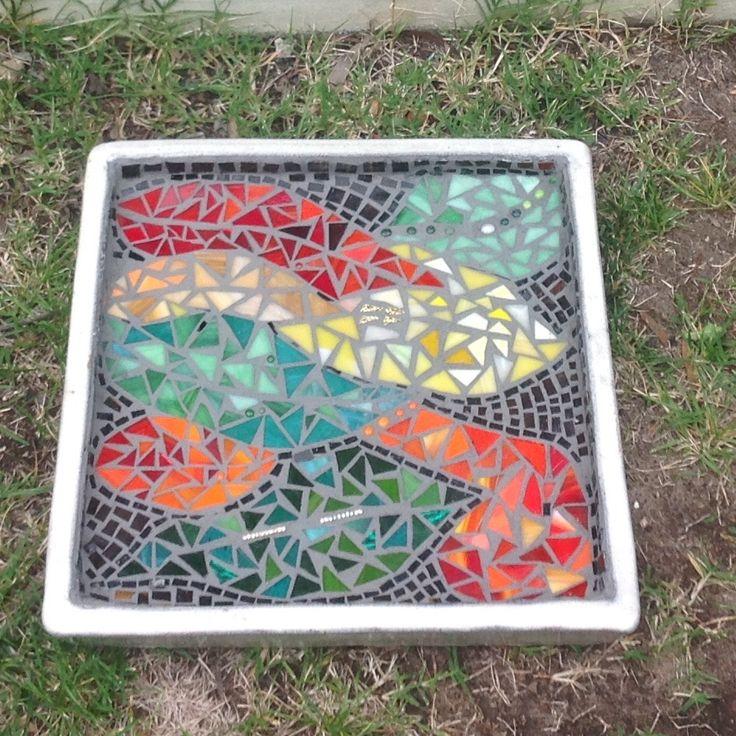 Mosaic Garden tray