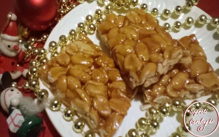 arachidi, croccante arachidi, dolci natale, dolci natalizi, ricetta croccante di arachidi, ricette croccante, ricette natalizie, ricette torrone, torrone arachidi