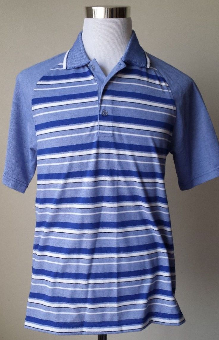 #Izod Golf POLO shirt size M blue short sleeve dry fast technology NWT  SLIM FIT visit our ebay store at  http://stores.ebay.com/esquirestore
