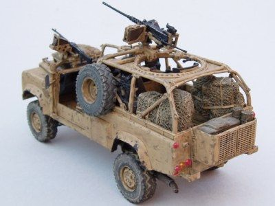 Military Models and 1/35 Scale Models by Accurate Armour. WMIK by Mark Howard (UK). Mark has been busy again! Another fine build of our LR003 kit.