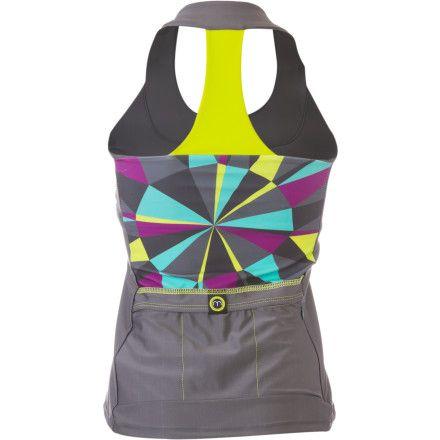 Moxie Cycling T-Back Jersey - Sleeveless - Women's