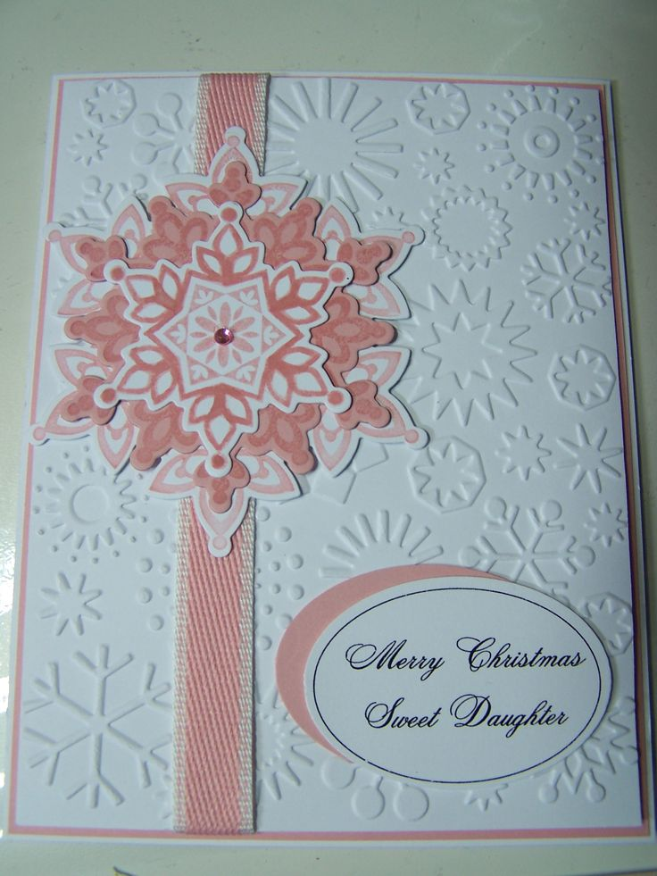 Stampin Up Festive Flurry Christmas card