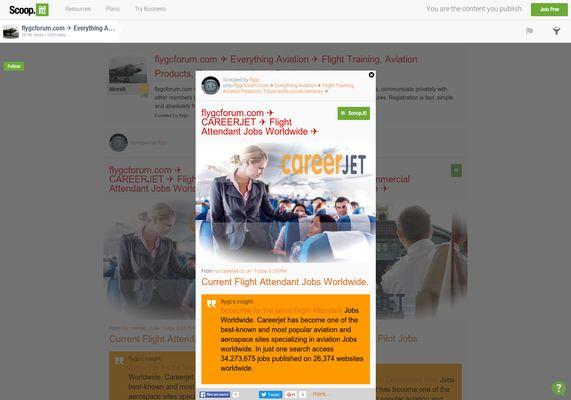 flygcforum.com ✈ CAREERJET ✈ Flight Attendant Jobs ✈  http://shrs.it/19g7o
