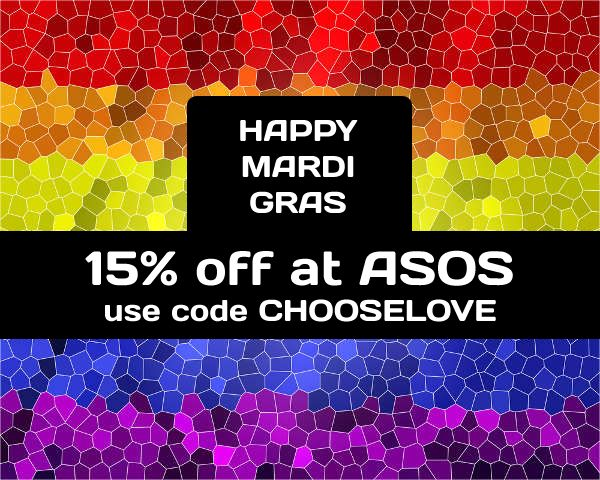 15% off full price items at ASOS using this voucher code. Valid today only for AU and NZ.