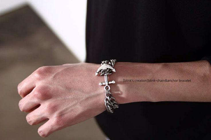 Men's summer bracelet Anchor&Chain