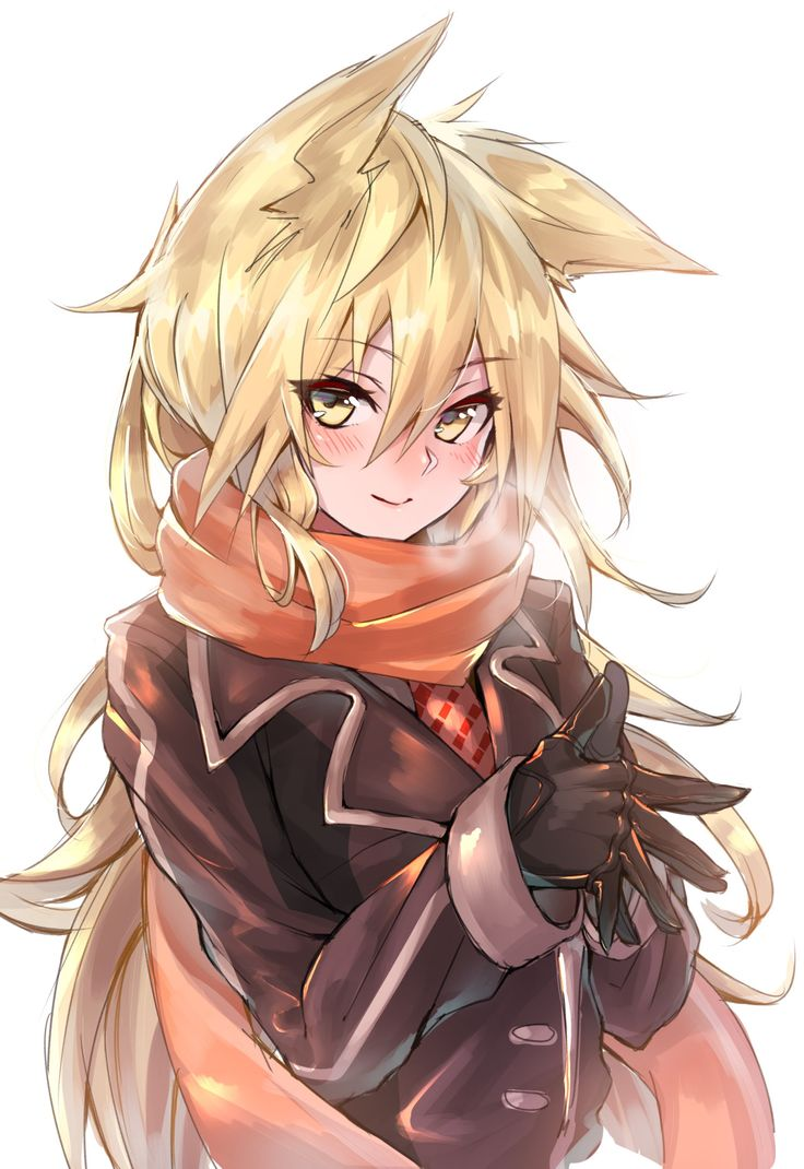 Anime Boy With Fox Ears Www Pixshark Com Images