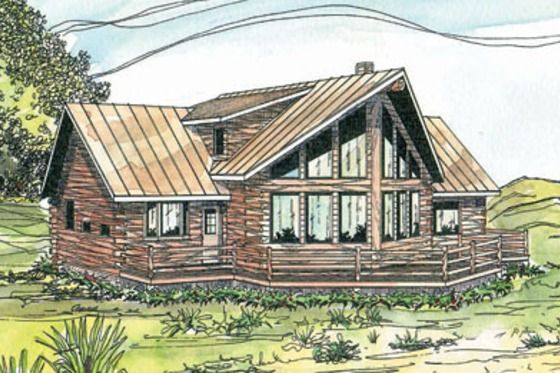 17 best images about house plan ideas on pinterest for 2000 sq ft log cabin cost