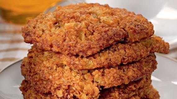 Овсяное печенье. Пошаговый рецепт с фото на Gastronom.ru
