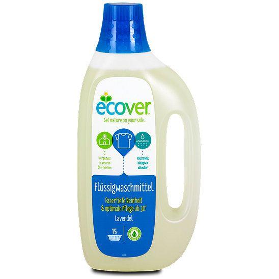 Ecover Flüssigwaschmittel Lavendel, Waschmittel aus dem dm Online Shop.