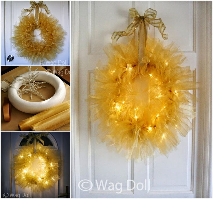 18 best christmas images on pinterest christmas ideas holiday how to make a twinkle tulle wreath diy diy crafts do it yourself diy projects twinkle solutioingenieria Choice Image