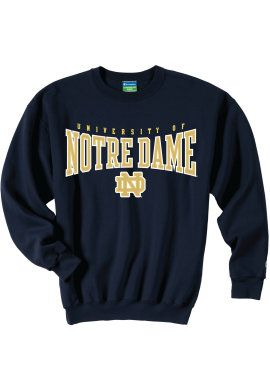 Product: University of Notre Dame Crewneck Sweatshirt