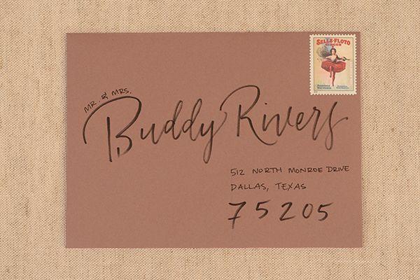 Oh So Beautiful Paper: DIY Tutorial: Envelope Addressing Styles