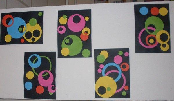 auteur:Lucie Kandinsky avec les PS,MS et GS Une petite contribution concernant Kandinsky avec ma classe de PS-MS-GS. PS: composition de ronds en collage MS: composition de ronds (peinture et collage) GS: composition de ronds (peinture) et travail sur...