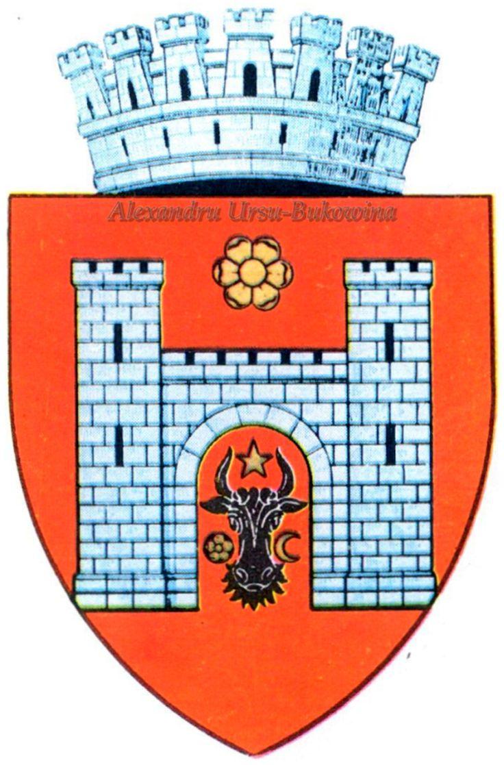 Stema orașului Cernăuți.