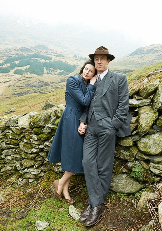Frank & Claire from the Outlander series