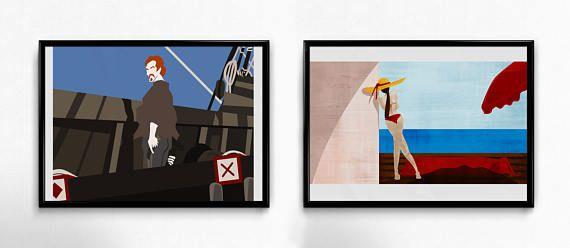 Prints on paper  home decor  stampe  decorazioni per la