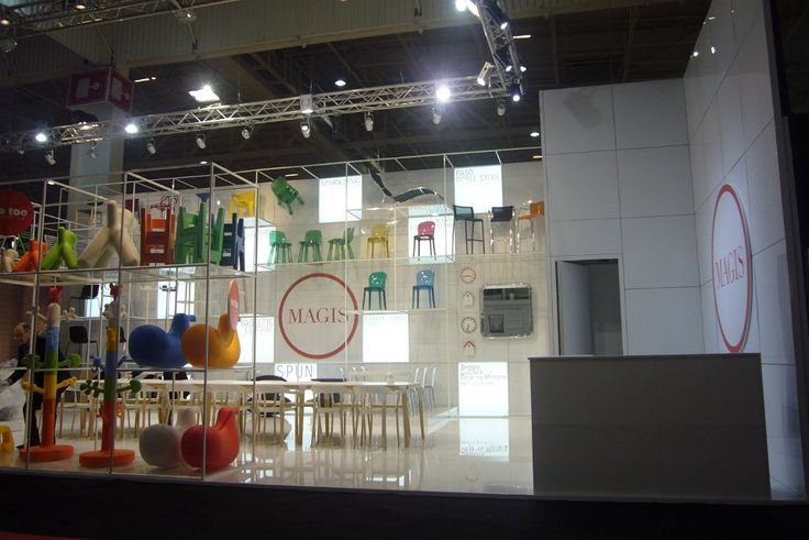 Stand Magis Design - Maison & Objet 2011 Parigi - Progetto Studio Calvi