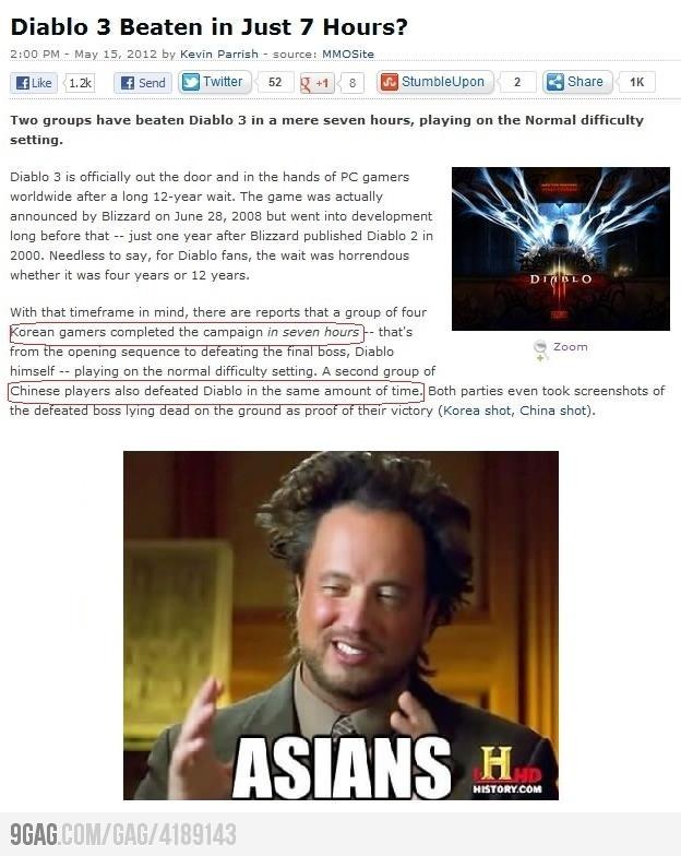 Asian gamer...