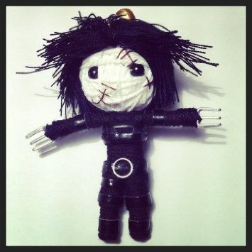 Edward scissorhands string doll