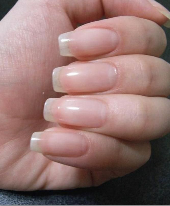 Pin By Pebbles Mateo On Nails Natural Nails Natural Nail Shapes Healthy Nails