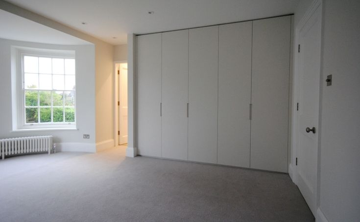 Family home refurbishment in Pinner, North West London. Included a walk-in master dressing room with…