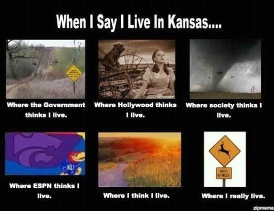 I really do love Kansas.