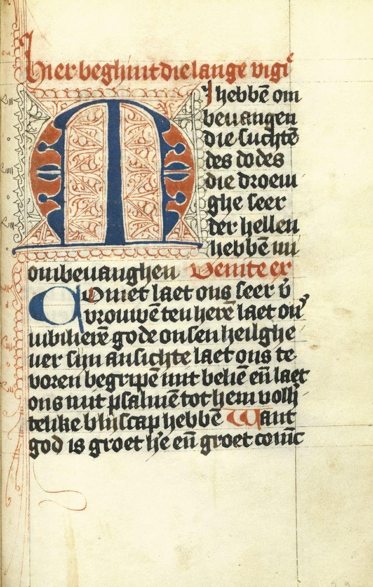 Book of Hours in Dutch, decorated manuscript on vellum [Netherlands (probably Utrecht), c.1460-70] | Sotheby's