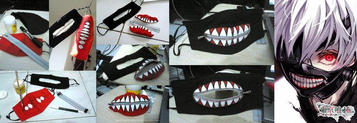 Kaneki Ken mask DIY