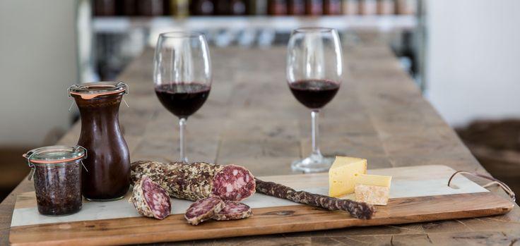 Enjoy food and wine pairings in #franschhoek
