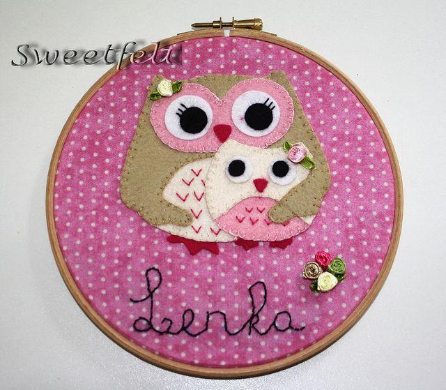 ♥♥♥ Lenka... by sweetfelt  ideias em feltro, via Flickr