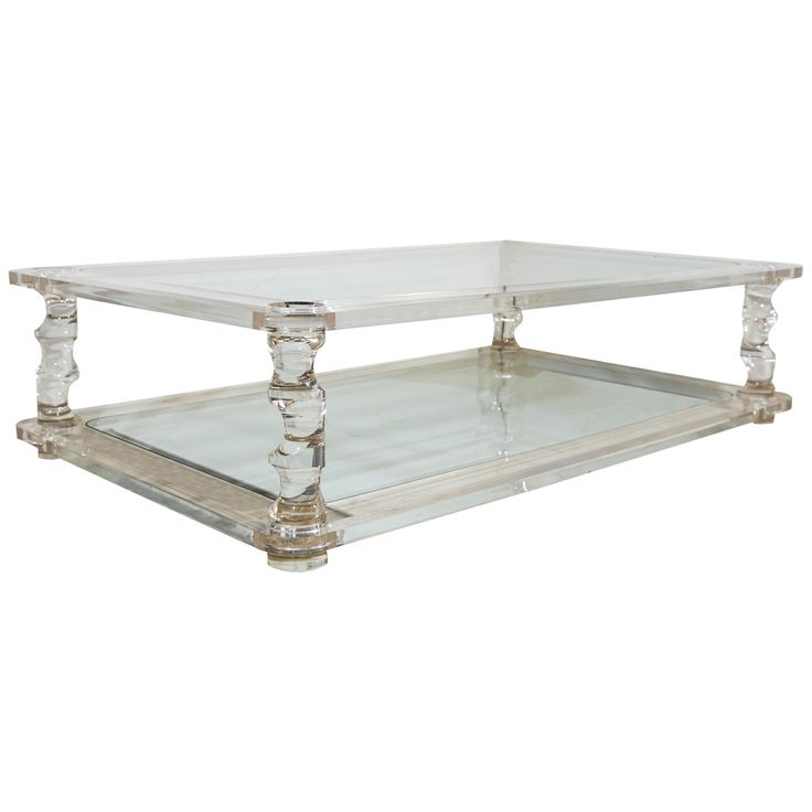 Glass Top Coffee Table From Karl Andersson: 11 Best Lucite Coffee Tables Images On Pinterest