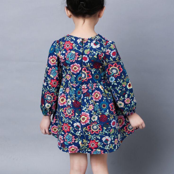 Детское платье с длинным рукавом.  http://ali.pub/j7b4s US $5.94 (40% off) #aliexpress #алиэкспресс #kids #girl #dress