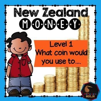 New Zealand Money level 1: what coin would you use ....