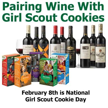 Pairing Wine with Girl Scout Cookies