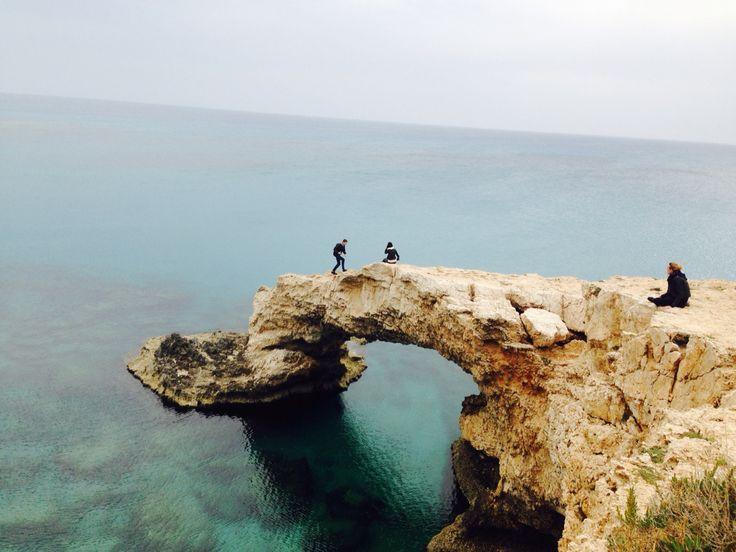 Love Bridge, Ayia Napa, Cyprus.