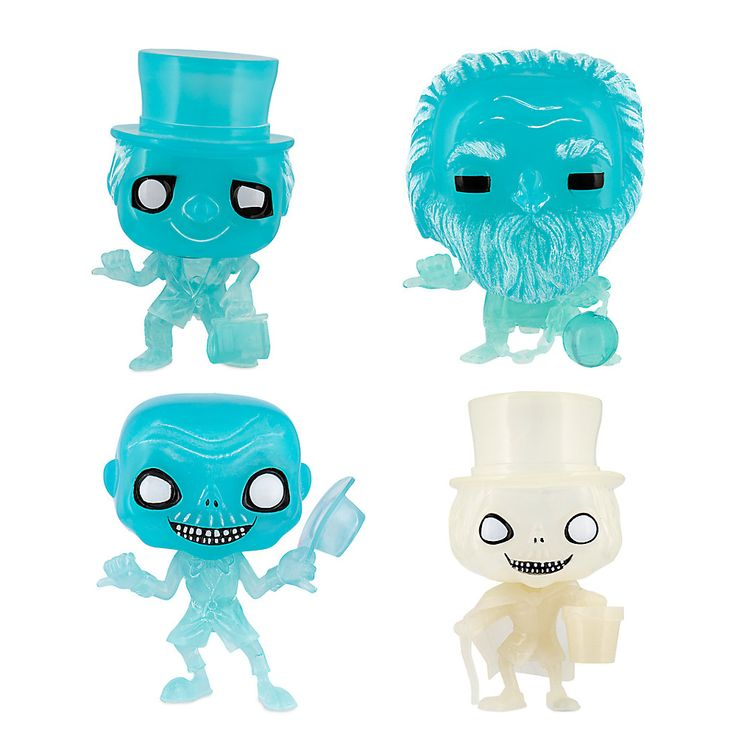Your WDW Store - Disney Funko Pop Vinyl Figures - Haunted Mansion - Corrected Set