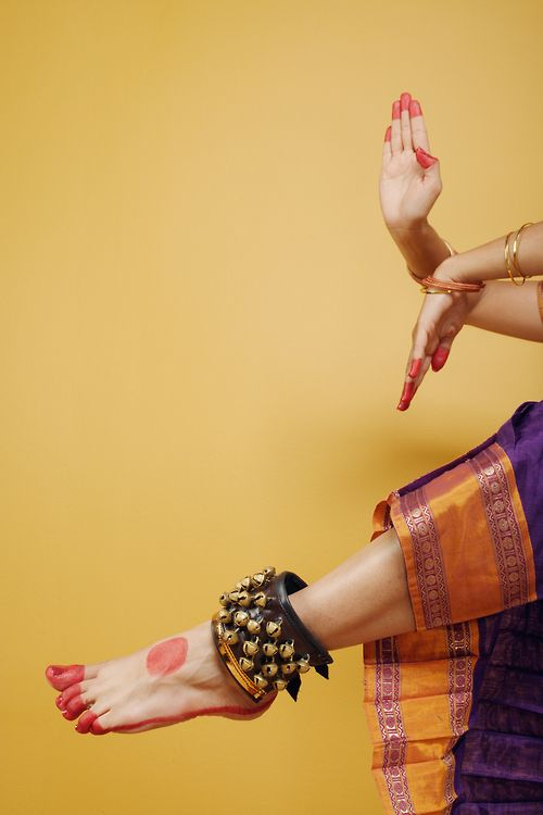 gunghrooo......... The part of Indian Classical Dance.