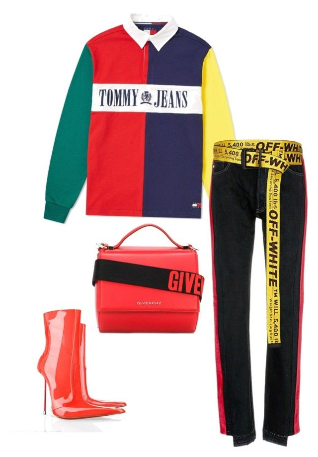 Vintage Kunt by emmanuel-lewis on Polyvore featuring polyvore, fashion, style, Tommy Hilfiger, Forte Couture, Givenchy, Off-White, vintage and clothing