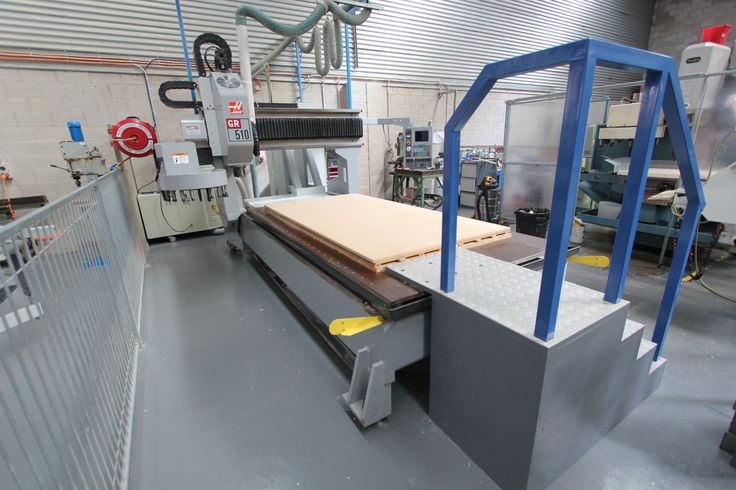 One of Blueprint 4D's large CNC machines - our oversized Haas!