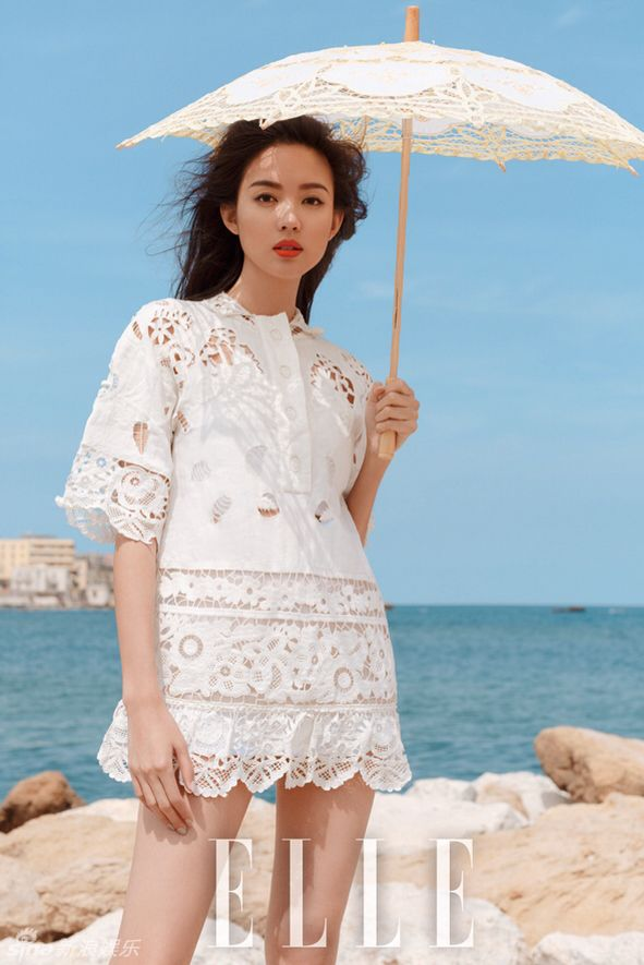 Zhang Zilin for ELLE China July 2015 - Valentino Spring ...