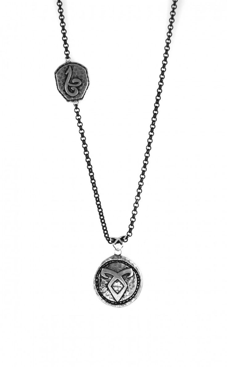 The Mortal Instruments Jewelry - Angelic Power Rune Jace Necklace, $69.99 (http://www.themortalinstrumentsjewelry.com/necklaces/angelic-power-rune-jace-necklace/)