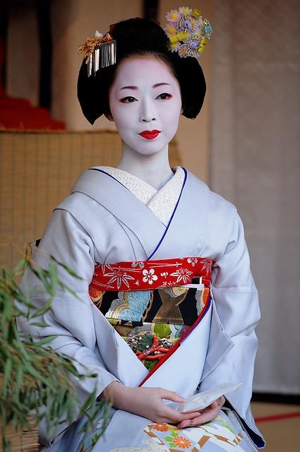 .baby blue kimono