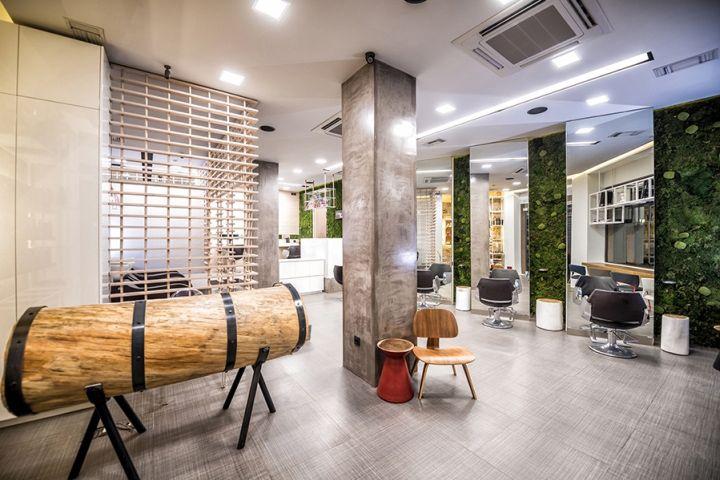 natural hairdresser salon design