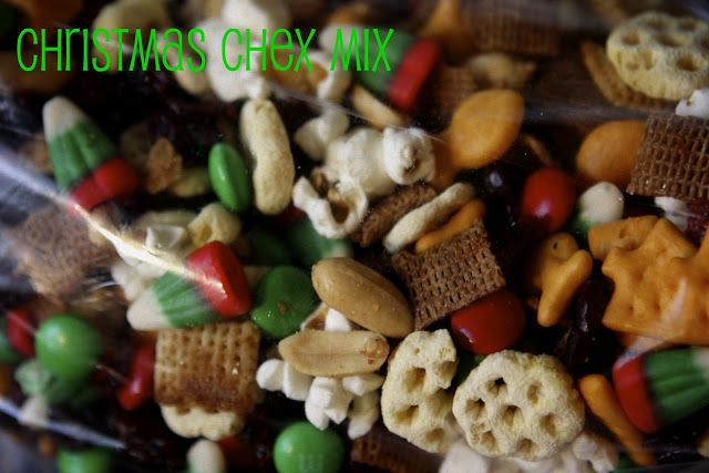 my life in a house full of boys: Salty Crafty, and Sweet {Christmas Chex Mix}