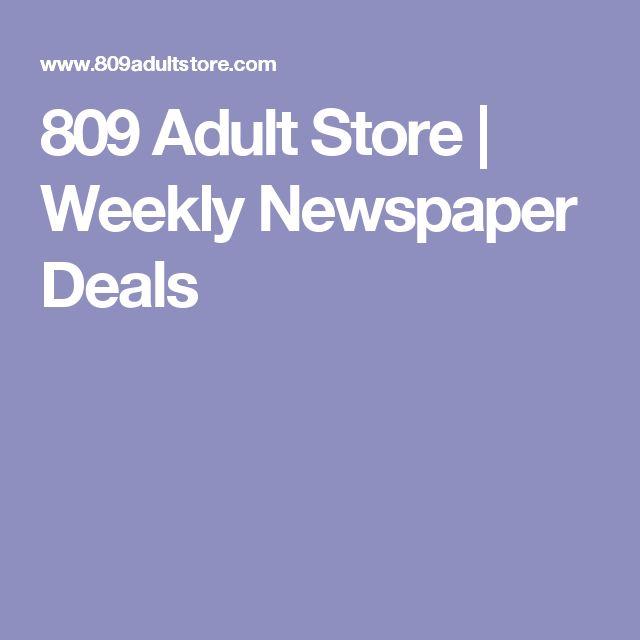 809 Adult Store | Weekly Newspaper Deals
