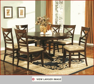 23 Best Dining Sets Images On Pinterest  Table Settings Dining Amusing 7 Piece Round Dining Room Set Decorating Design