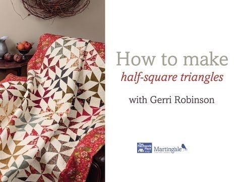 182 best Quilting-Half & 1/4 square triangles and rectangles ... : free quilt videos - Adamdwight.com