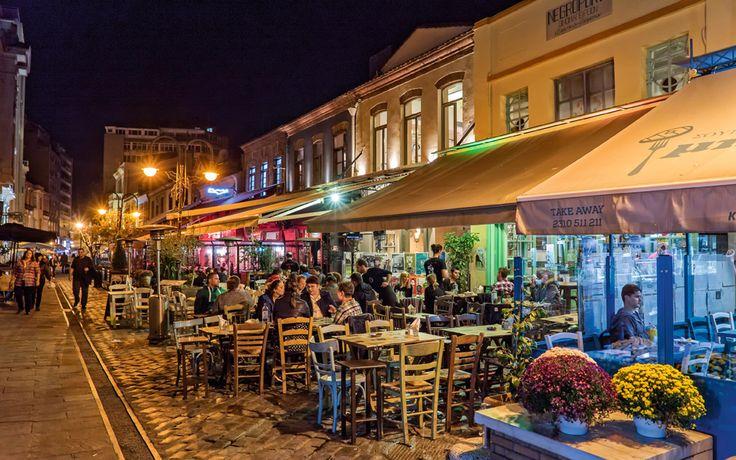 Ladadika after Dark - Greece Is